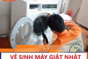 Ve Sinh May Giat Nhat Noi Dia Co Thao Long